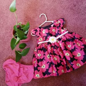 Made with Love by PLACE Flower Formal Dress 12-18M